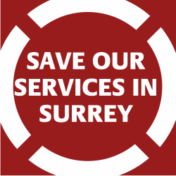 Save Our Services in Surrey